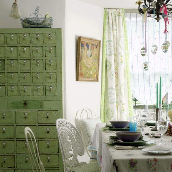 Easter-inspired folk art dining room | Dining room ideas | Image | Housetohome