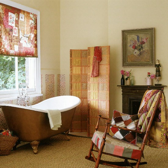 Patchwork bathroom | Decorating ideas | Image | Housetohome.co.uk