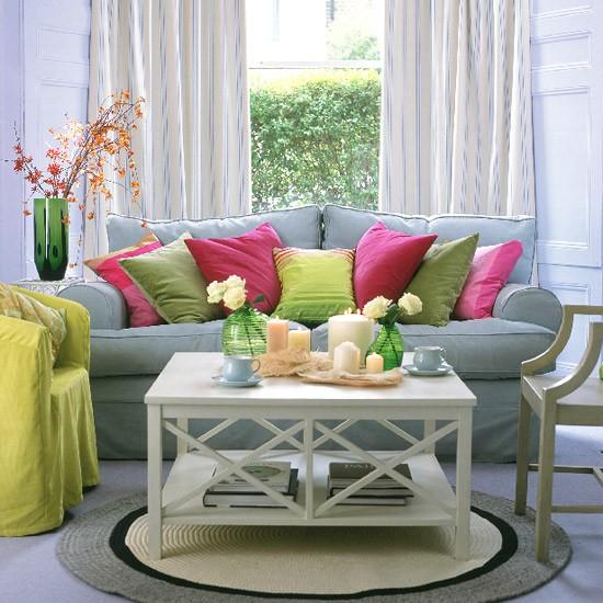 Colourful living room   Image   Housetohome.co.uk