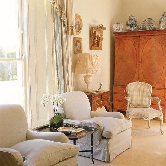 Georgian drawing room   living room ideas   image