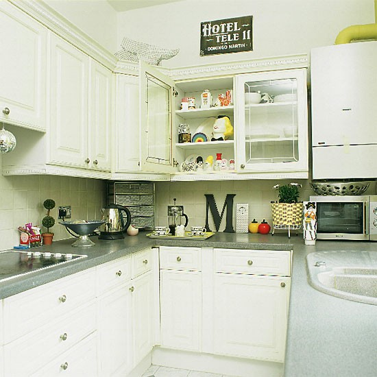 Small white galley kitchen | Kitchen design | Decorating ideas | Image | Housetohome