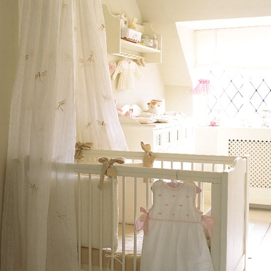 French style nursery crib bedding decorating ideas for Baby room decoration uk