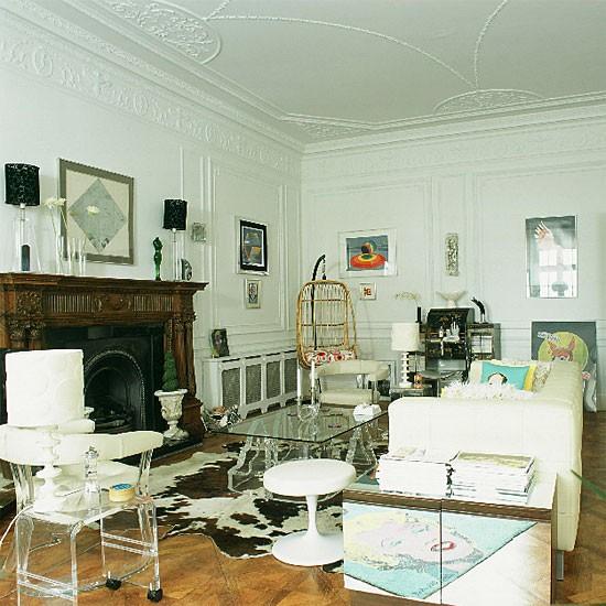 Retro living room | Decorating ideas | Image | Housetohome.co.uk