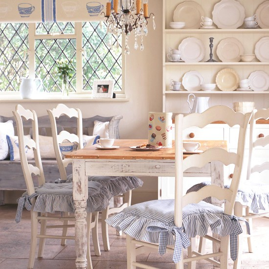 French-style country dining area | Antique style | Decorating ideas | Image | Housetohome