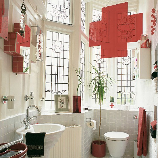 England-themed bathroom | Bathroom vanities | Decorating ideas | Image | Housetohome