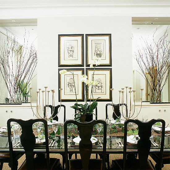Oriental-style dining room | Dining room furniture | Image | Housetohome
