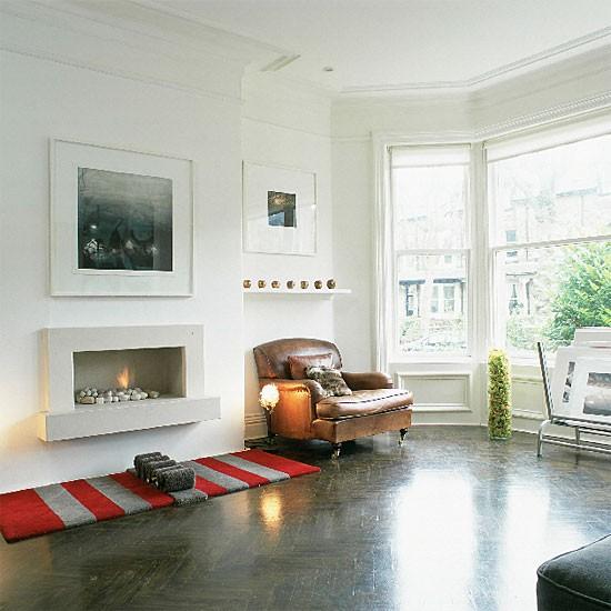 Modern white living room | Decorating ideas | Image | Housetohome.co.uk