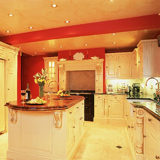 Opulent kitchen | Kitchen furniture | Decorating ideas | Image | Housetohome