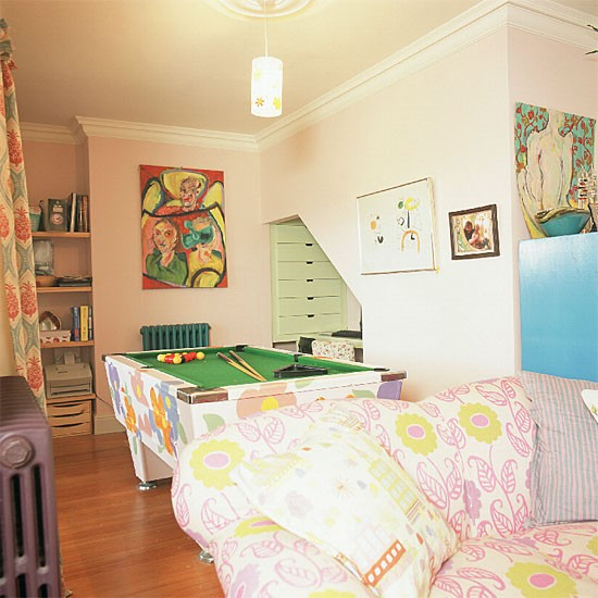 Colourful leisureroom | Decorating ideas | Image | Housetohome.co.uk
