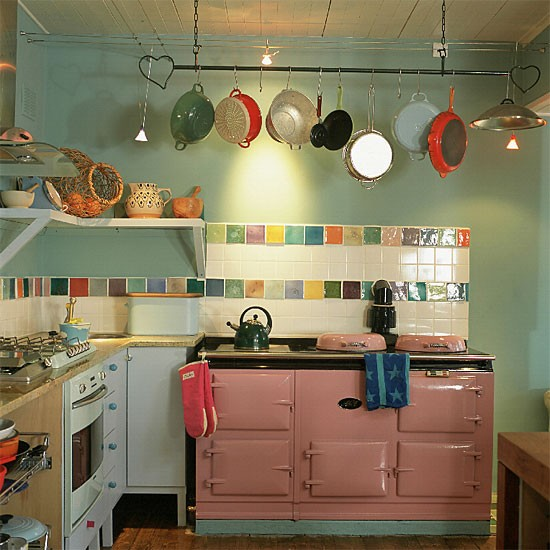 Colourful kitchen | Kitchen design | Decorating ideas | housetohome.