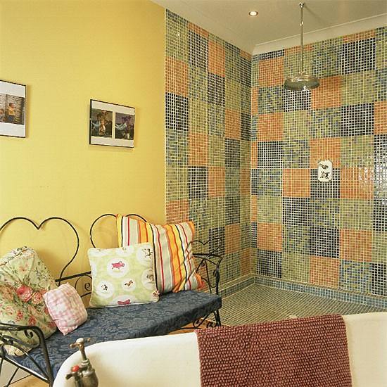 Mosaic bathroom | Bathroom vanities | Decorating ideas | Image | Housetohome