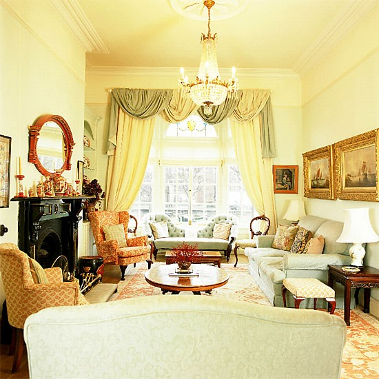 Traditional living room   Living room furniture   Decorating ideas   Image   Housetohome