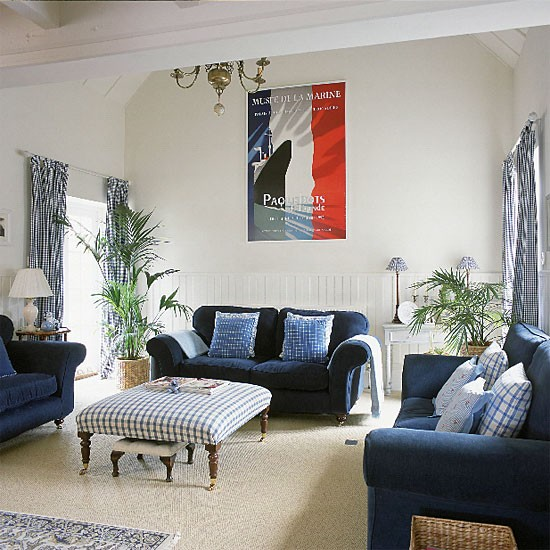 French-style living room | Living room furniture | Decorating ideas | Image | Housetohome