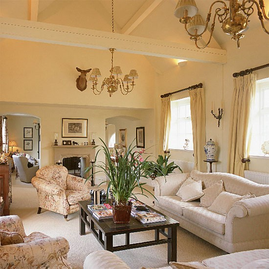 Traditional living room | Living room furniture | Decorating ideas | Image | Housetohome