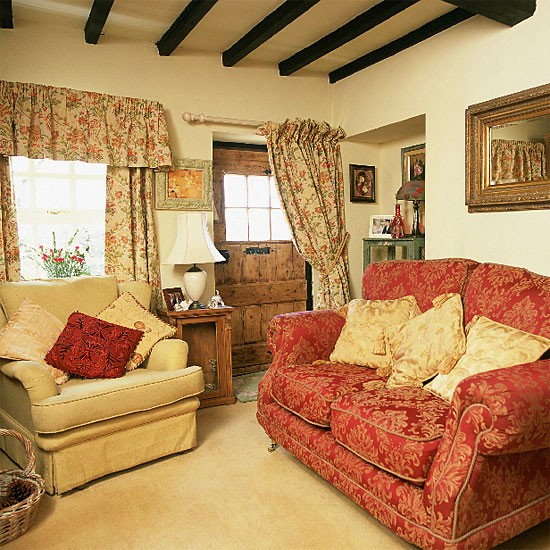 Country Cottage Living Room Living Room Furniture Decorating Ideas