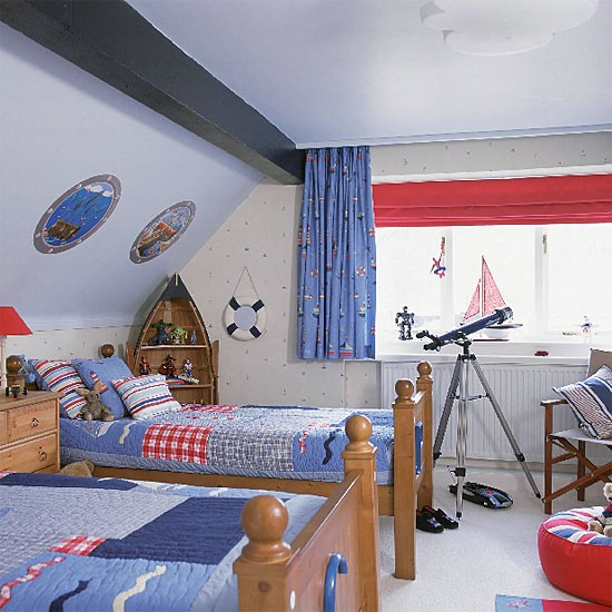 Boys' nautical bedroom | Bedroom design | Decorating ideas | Image | Housetohome