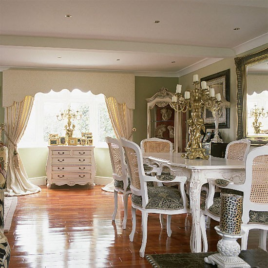 French-style dining room | Dining room furniture | Decorating ideas | Image | Housetohome