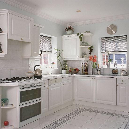 Classic black and white kitchen | Kitchen design | Decorating ideas | Image | Housetohome