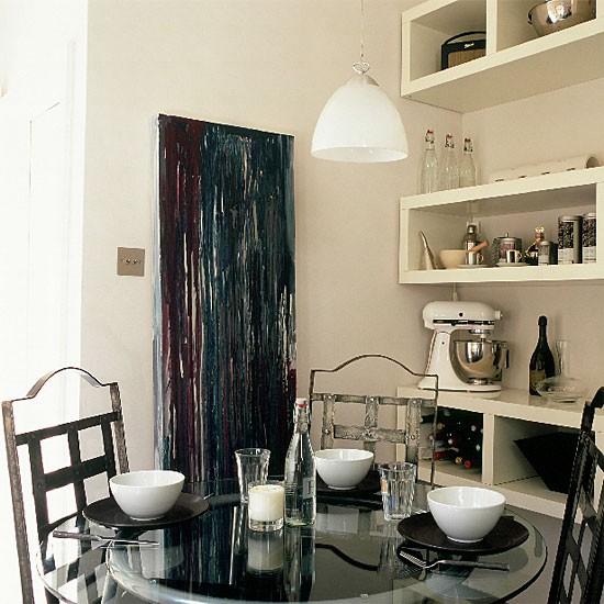 Monochrome kitchen/diner   Kitchen design   Decorating ideas   Image   Housetohome