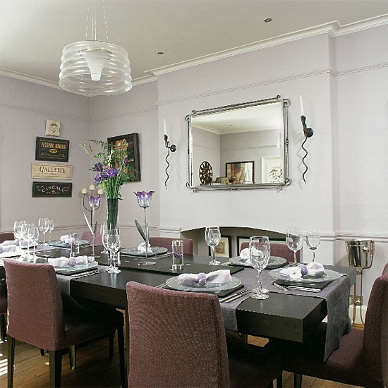Lilac Dining Room Getpaidforphotoscom - Grey and lilac living room