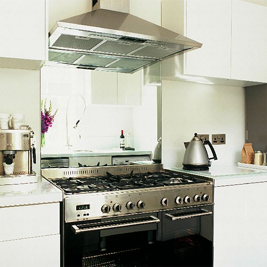 Small modern white kitchen | Kitchen design | Decorating ideas | Image | Housetohome