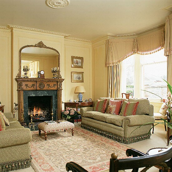 Traditional living room | Living room furniture | Decorating ideas