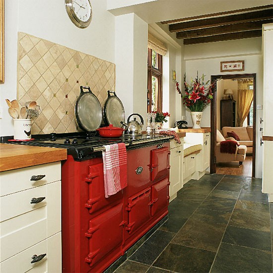 Open-plan Country Kitchen