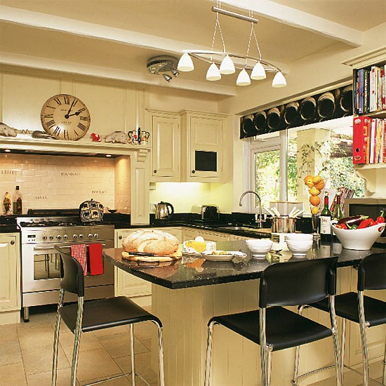 Modern country kitchen kitchen design decorating ideas for Kitchen ideas modern country