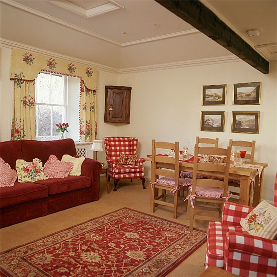 Country living room | Living room furniture | Decorating ideas | Image | Housetohome