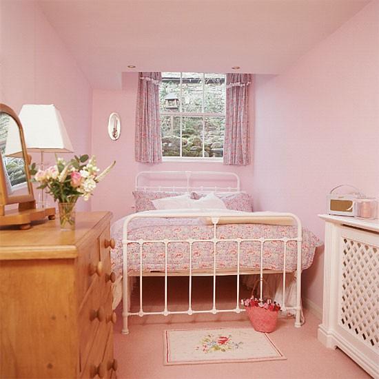 Pink girl's bedroom | Bedroom furniture | Decorating ideas | Image | Housetohome