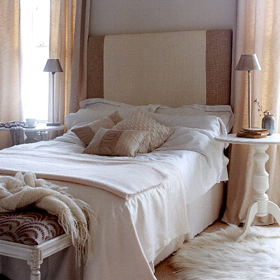 Taupe And Blue Bedroom Bedroom Makeover Minimalist Bedroom Blue Bedroom Side Tables: Bedroom With Lots Of Texture