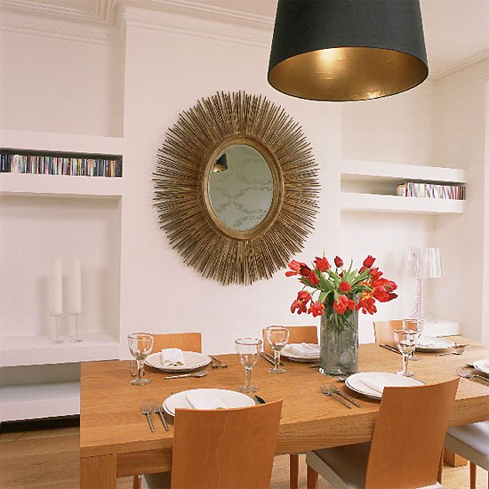 Minimalist white dining room | Dining room furniture | Decorating ideas | Image | Housetohome