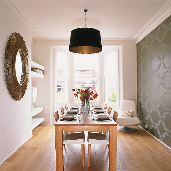 Eclectic modern dining room | Dining room furniture | Decorating ideas | Image | Housetohome