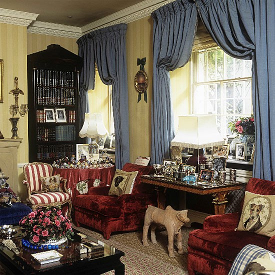 Colourful formal living room | Living room furniture | Decorating ideas | Image | Housetohome