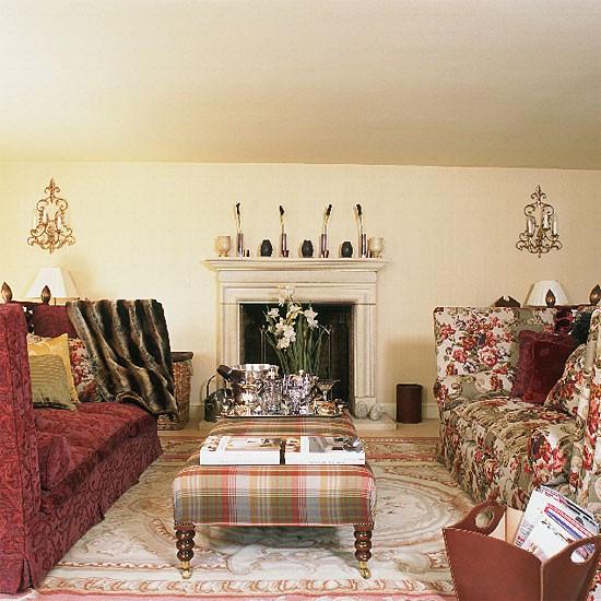 Colourful formal living room | Living room furniture | Decorating ideas | Image | Housetohome