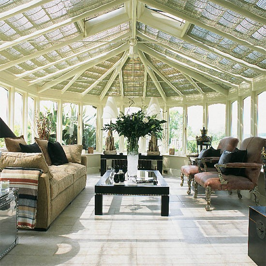 Housetohome Co Uk: Conservatory With Original Furnishing