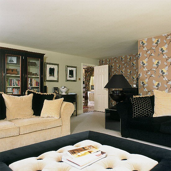Bold living room | Decorating ideas | Image | Housetohome.co.uk