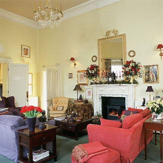 Colourful Georgian living room   Image   Housetohome.co.uk