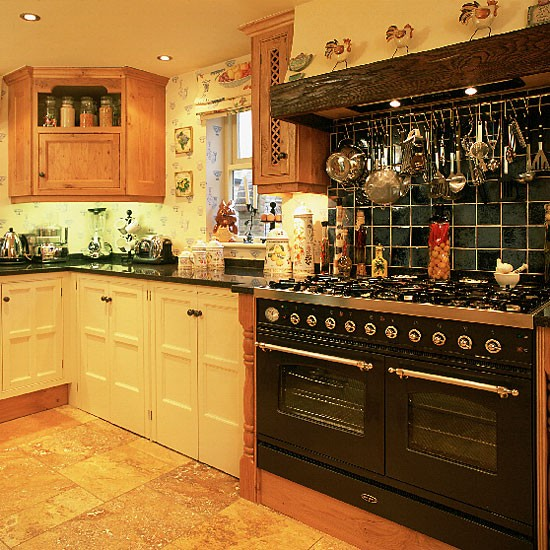 Yellow country kitchen  Kitchen ideas  image  Housetohome co uk