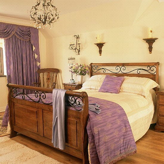 Eclectic bedroom | Bedroom furniture | Decorating ideas | Image | Houetohome