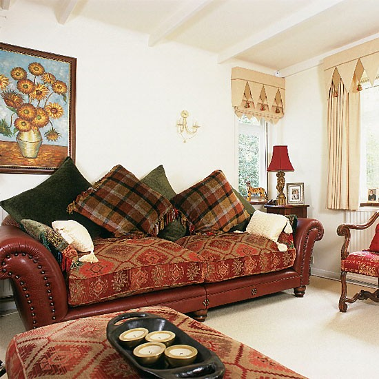 Eclectic living room | Decorating ideas | Image | Housetohome.co.uk