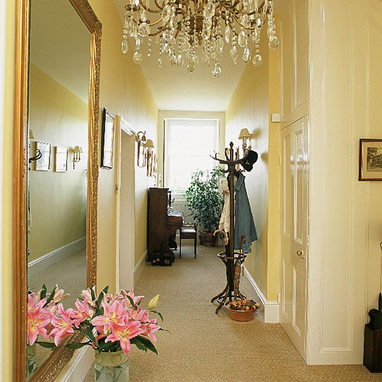 Narrow Hallway Furniture Decorating Ideas
