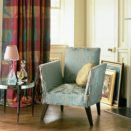 Traditional chair detail | living room ideas | image