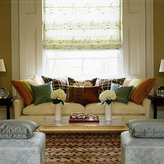 Symmetrical living room | Image | Housetohome.co.uk