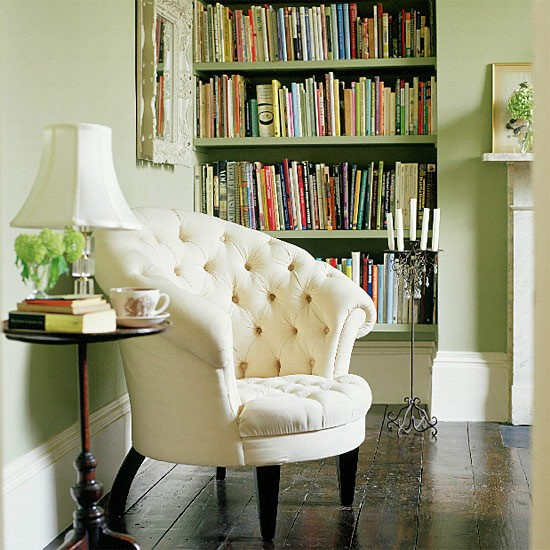 Classic white chair in living room | Image | Housetohome.co.uk