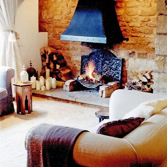 Living room fireplace   Living room furniture   Decorating ideas   Image   Housetohome.co.uk