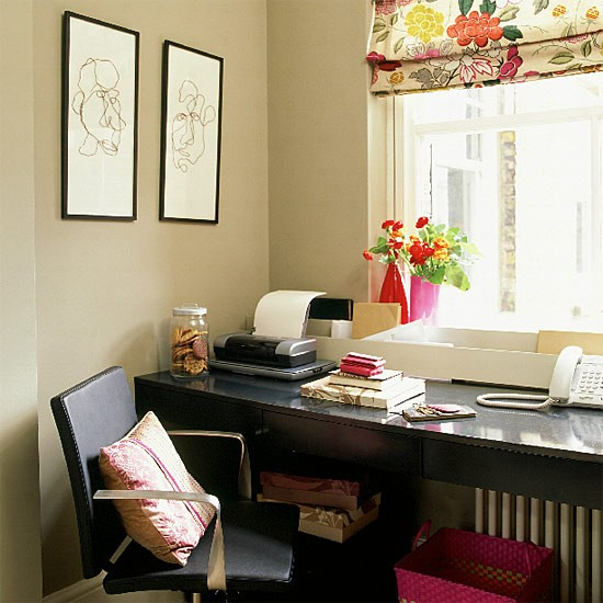 Home office | Study | Office furniture | Image | Housetohome.co.uk