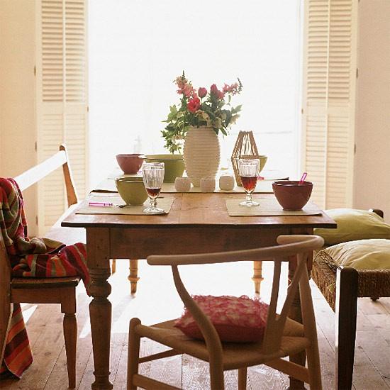 Informal summer dining room | Dining room furniture | Image | Housetohome