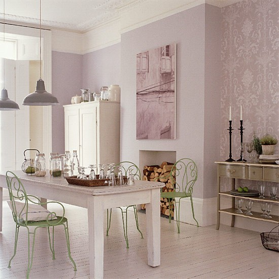 French-style dining area | Dining room furniture | Decorating ideas | Image | Housetohome