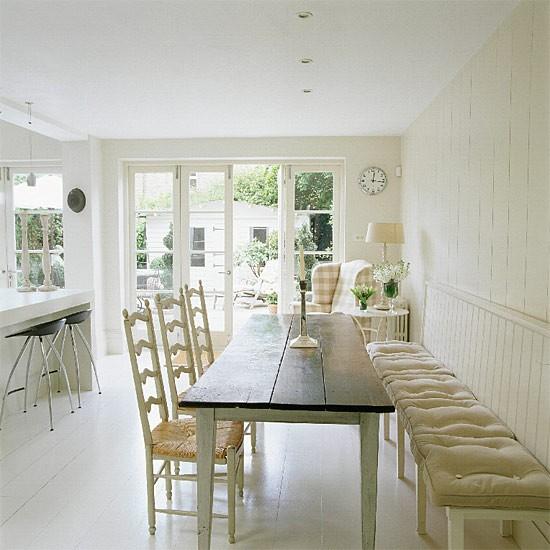 Open Plan White Kitchen: Open Plan White Kitchen